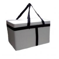 Caja de telgopor con manija  43 X 31 X 25,5  cm