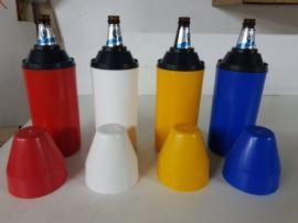 Porta botellas plásticos
